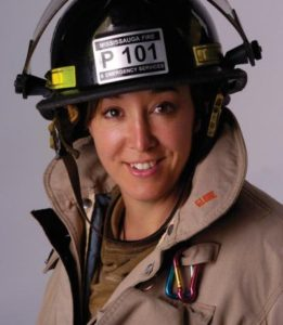 Shelli Varela Fire Captain to TEDx stage
